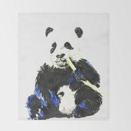Food Panda Throw Blanket