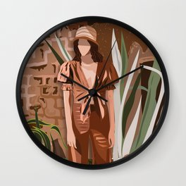 SUMMER DAY IN MOROCCO Wall Clock