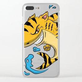 Tiger Shark T Shirt Tigershark Boys Men Kids Predators Gift Idea Clear iPhone Case
