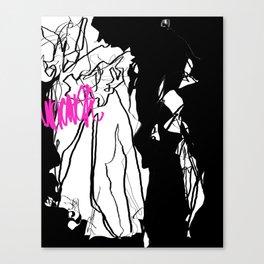 Uncover Canvas Print