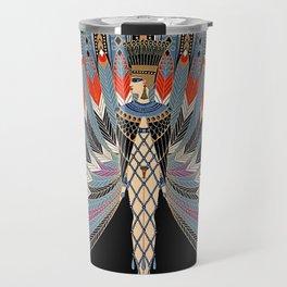 "Art Deco Egyptian Design ""The Nile"" Travel Mug"