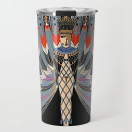 "Art Deco Egyptian Design ""The Nile"" Travel Mug"