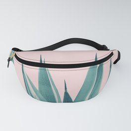 Blush Agave Dream #1 #tropical #decor #art #society6 Fanny Pack