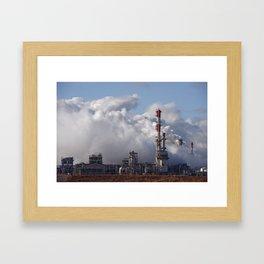 Nova Chemical Plant Framed Art Print