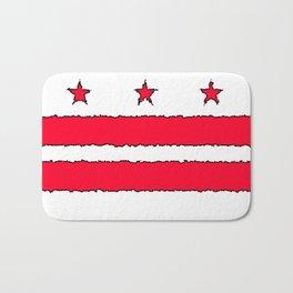 Fancy Flag: Washington, DC    District of Columbia Bath Mat