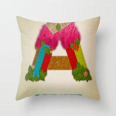 + Amour Throw Pillow
