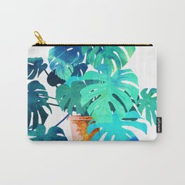 Monstera || Carry-All Pouch