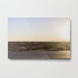 road and backdrop Metal Print