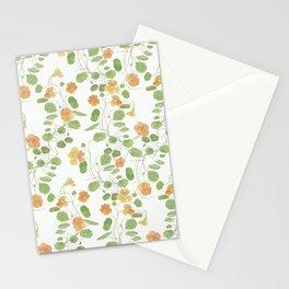 nasturtium flowers Stationery Cards