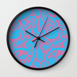 Seamless Art - 11 (3D Color Reflection) Wall Clock