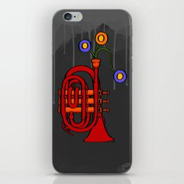 Happy to see my pocket trumpet iPhone Skin