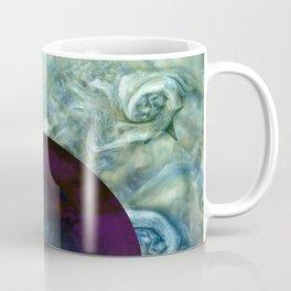 """""""Blue clouds on Saturn"""" Coffee Mug"""