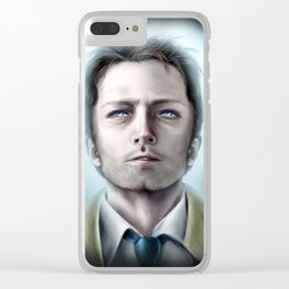 Goodbye Stranger Clear iPhone Case