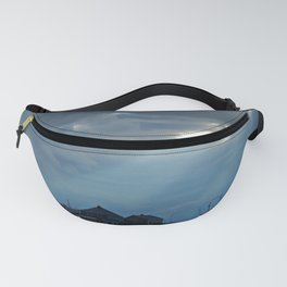 Whale Shaped Light Beam Fanny Pack