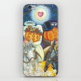 SLEEPY HOLLOW WEDDING - Brack Headless Horseman Halloween Art iPhone Skin