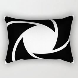 Camera Lense Rectangular Pillow