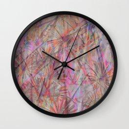 Leaf Me Be #9 Wall Clock