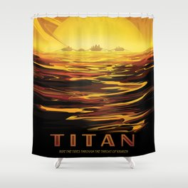 Titan Shower Curtain