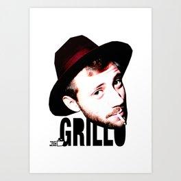 TOILET CLUB #grillo Art Print