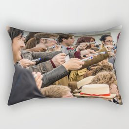 Doctor Who Through the Ages ... Rectangular Pillow