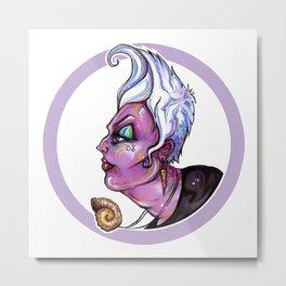 Dark Diva – Ursula Metal Print