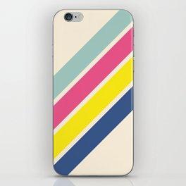 4 Retro Stripes #1 iPhone Skin