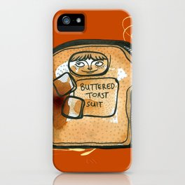 Buttered Toast Suit iPhone Case