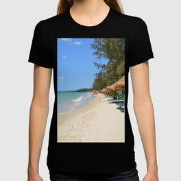 Otres Beach Sihanoukville Cambodia T-shirt