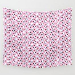 Pink Poros Wall Tapestry