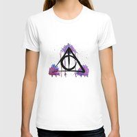 deathly hallows T-shirts featuring The Deathly Hallows by AliceInWonderbookland