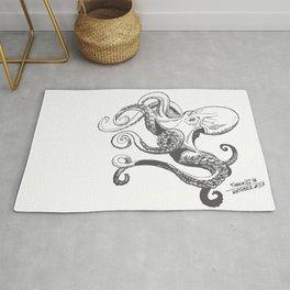 Octopus - Inktober 2016 #20 Rug