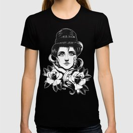 WOMAN and Roses - TATTOO T-shirt