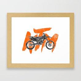 ktm Framed Art Print