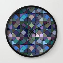 Moody Circles Wall Clock