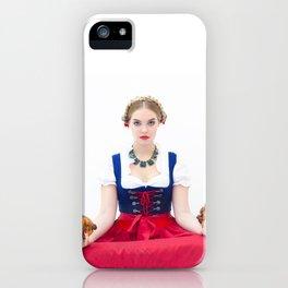 Lola Chicken Buddha iPhone Case
