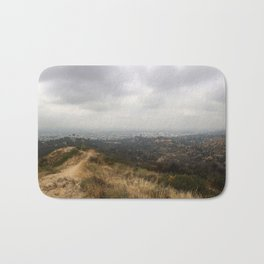 The Wildness of Nature over Los Angeles Bath Mat