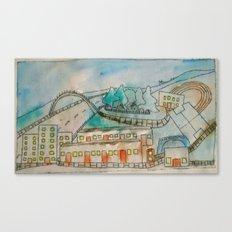 Livingston sports centre. Canvas Print