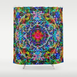 Diddling With The Multiverse Has Consequences Shower Curtain