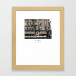 Drinking Sangria in Greenwich Village, NYC Framed Art Print