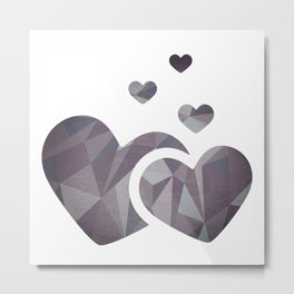 Share Your Love Metal Print