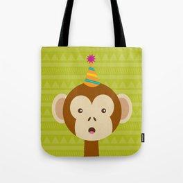 Party Monkey Tote Bag