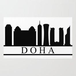 skyline doha Rug