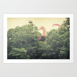 the clubhouse Art Print