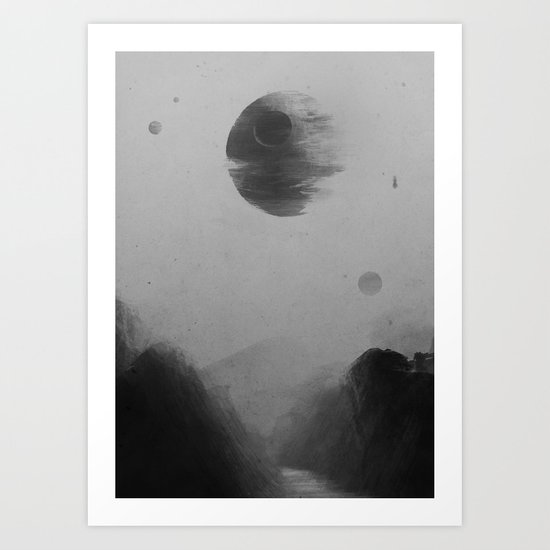 Death From Above Art Print