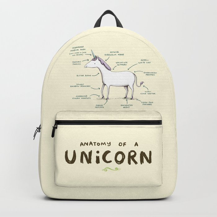 Anatomy of a Unicorn Backpack