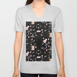 Cherry Blossom - Floral Witch Starter Kit Unisex V-Neck