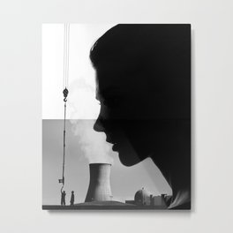 Ezeiza Metal Print