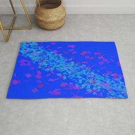 Pattern (blue/violet) Rug