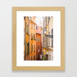 Vieille Ville, Nice Framed Art Print