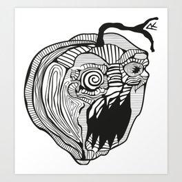 Lemon demon Art Print
